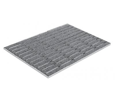 Rohožky pre čistenie obuvi pre vnútorné priestory. Možnosť použiť i do keramickej dlažby. 750x500x10