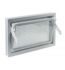 izolačné sklo - farba: biela 600x500